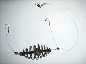 ловля рыбы на пенопластовые шарики