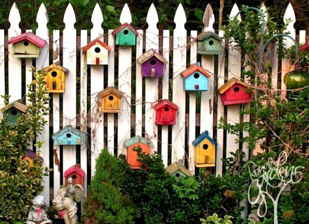 Забор способен перевоплотить дачу в райское место. 8 интересных, простых и симпатичных, оригинальных и роскошных идей оформления