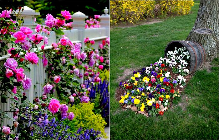 Цветущий сад: 17 фантастических идей для дизайна клумб