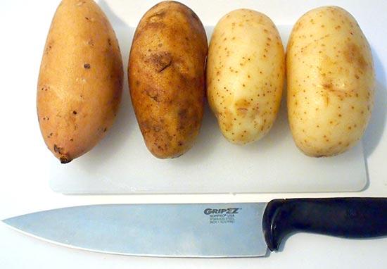 как запечь картошку в мундире в духовке