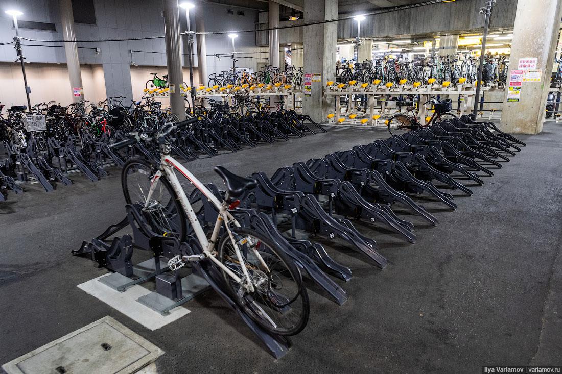 Япония: туалеты и велосипеды заграница,поездка,страны,туризм
