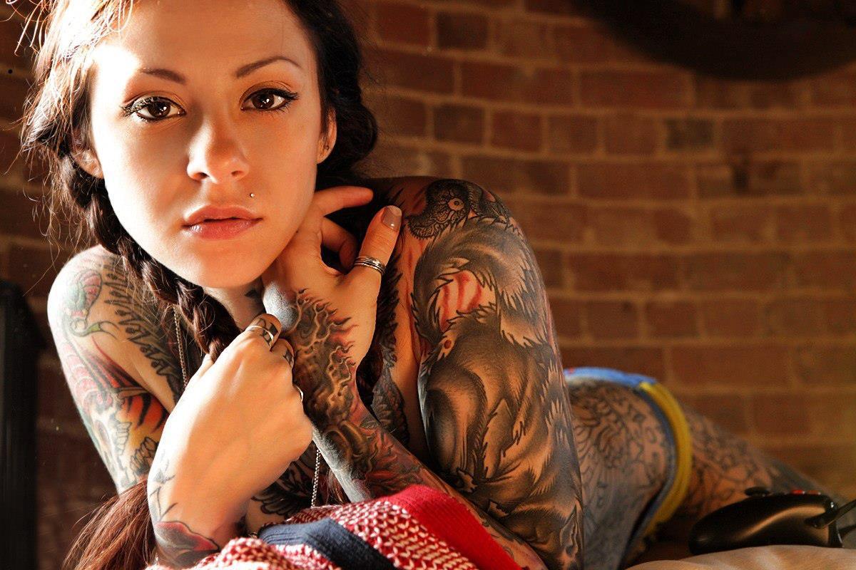 Тату у баб, Женские татуировки Интимные татуфотографий 21 фотография