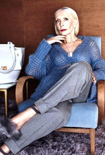 82-летняя модель покоряет модные подиумы