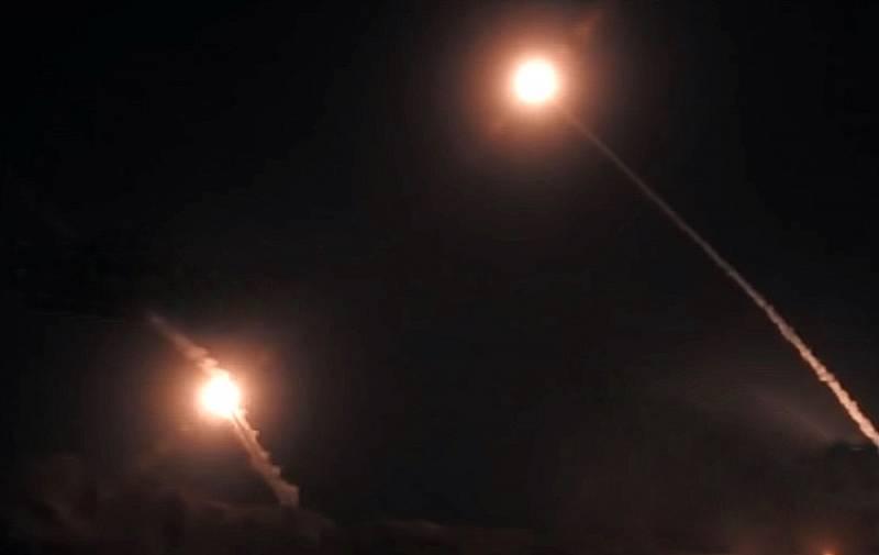 Сирийцы показали точный перехват израильских ракет над Дамаском Новости