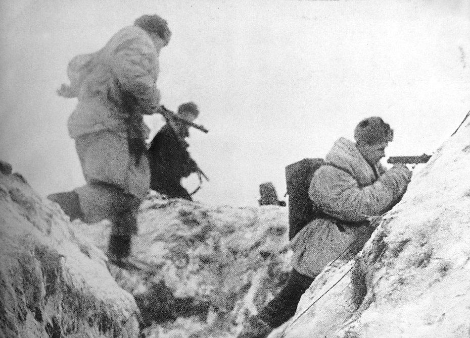 Январь 1945 года — подвиг батальона майора Бориса Емельянова Мужское