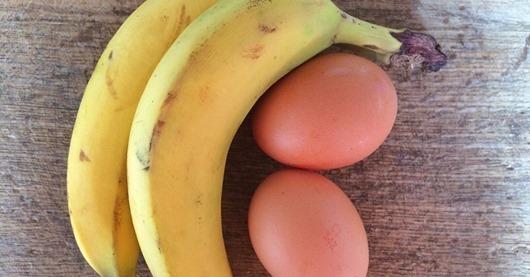 Два яйца и три банана