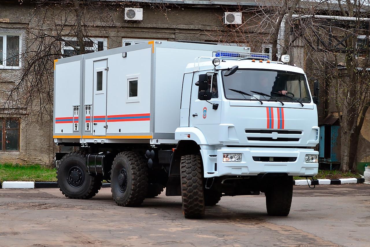 КАМАЗ Супермена: спецмашина МЧС, которая спасет в любой ситуации авто,автомобиль,Россия