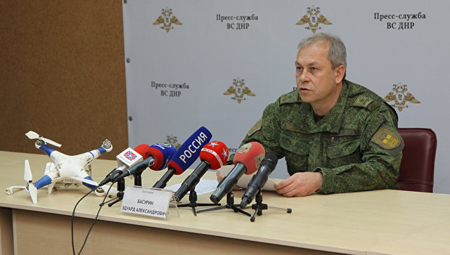 """""""Российских войск в Донбассе нет"""": Басурин рассказал, когда российские военные покинут Донбасс"""
