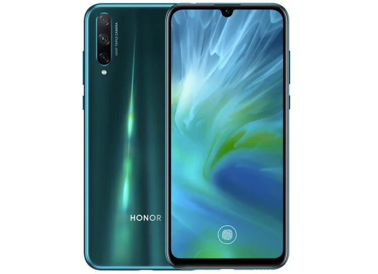 Новый смартфон Honor 20 Lite получил 48-Мп камеру и экранный сканер отпечатков