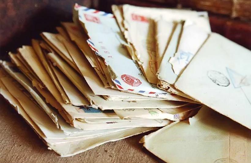 Фотографии открыток и писем