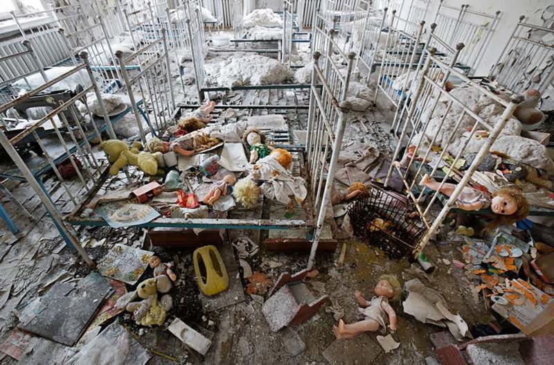 Еще несколько постапокалиптических снимков Припяти Чернобыль, чернобыльская катастрофа