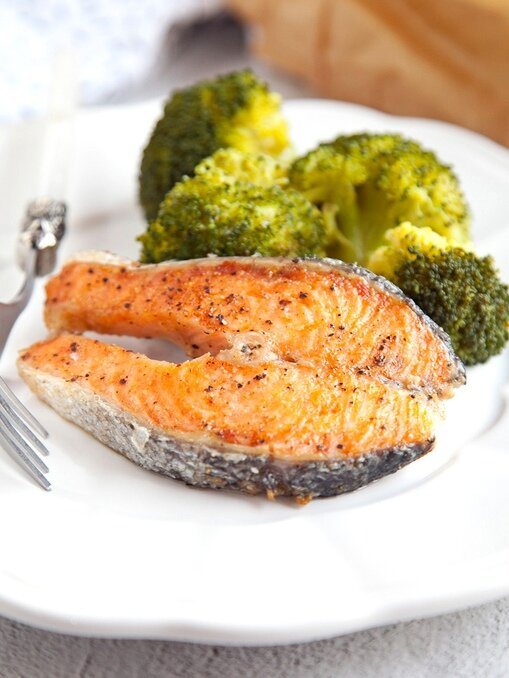 для лосося и любой рыбы