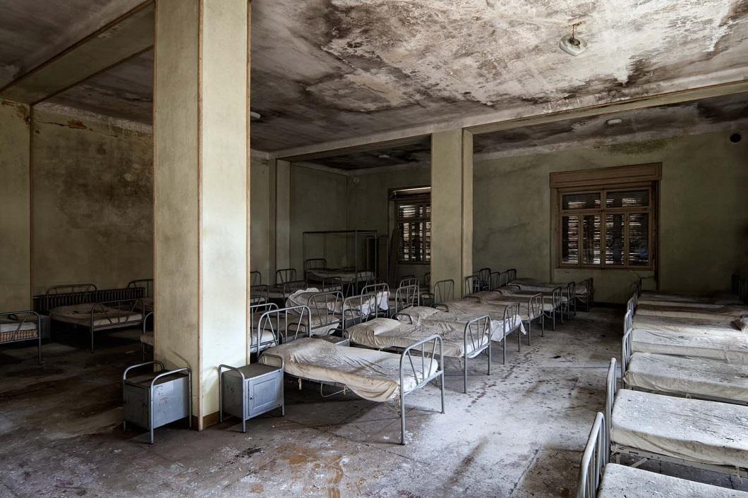 Заброшенные места вфотографиях Винсента Янсена путешествия,туризм