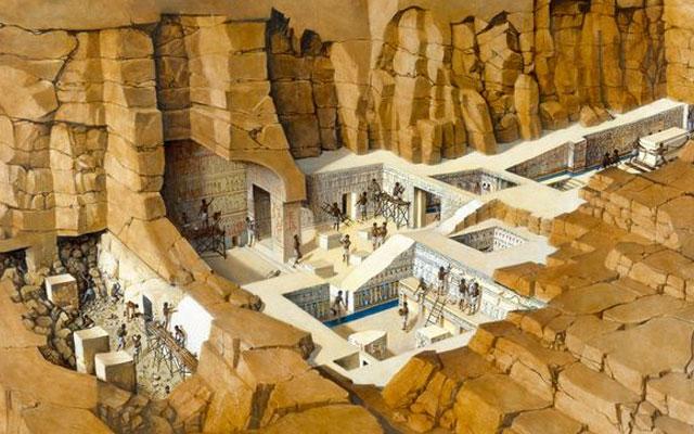 Подземные города под пирамидами Гизы