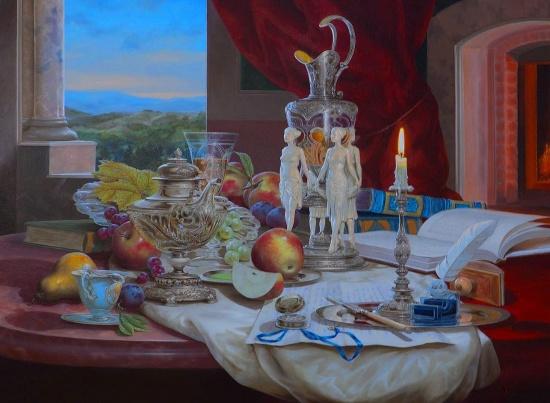 художник Gyula Boros (Дьюла Борос) картины – 19