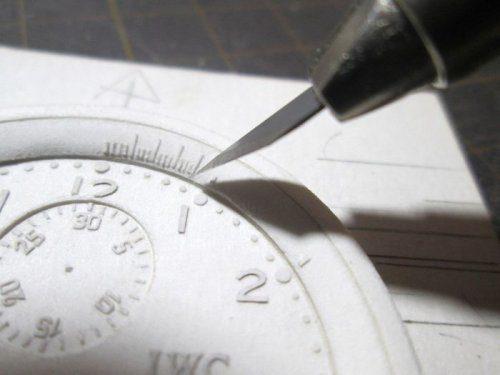 Невероятно реалистичные бумажные часы, созданные художником