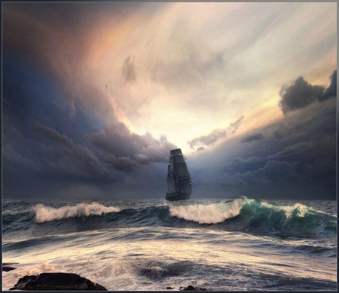 Море, корабли и природа