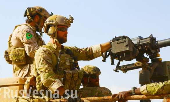 «Спецназ» ИГИЛ против спецназа США: 3-й день штурма плотины в Ракке и новые потери американцев (+ВИДЕО)