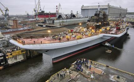 Нужно ли России строить свои авианосцы? вмф
