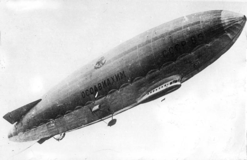 5 ноября 1934 года совершил свой первый полет дирижабль «СССР-В6 Осоавиахим»