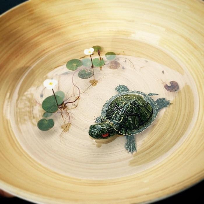 Реалистичные 3D-рисунки 3d-рисунок,вдохновляемся