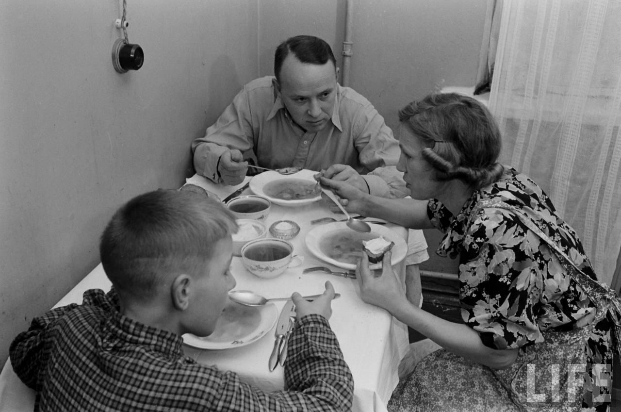 фото о советской жизни питание плане полезных