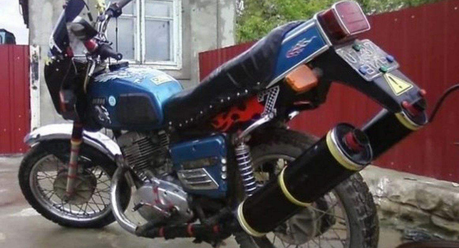 Тюнинг мотоциклов в СССР, как отдельный вид искусства Автомобили