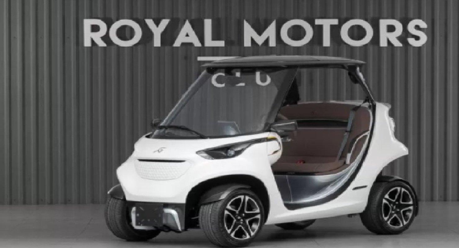 В Москве продают гольф-кар с дизайном от Mercedes по цене новенького Porsche Cayenne Автомобили