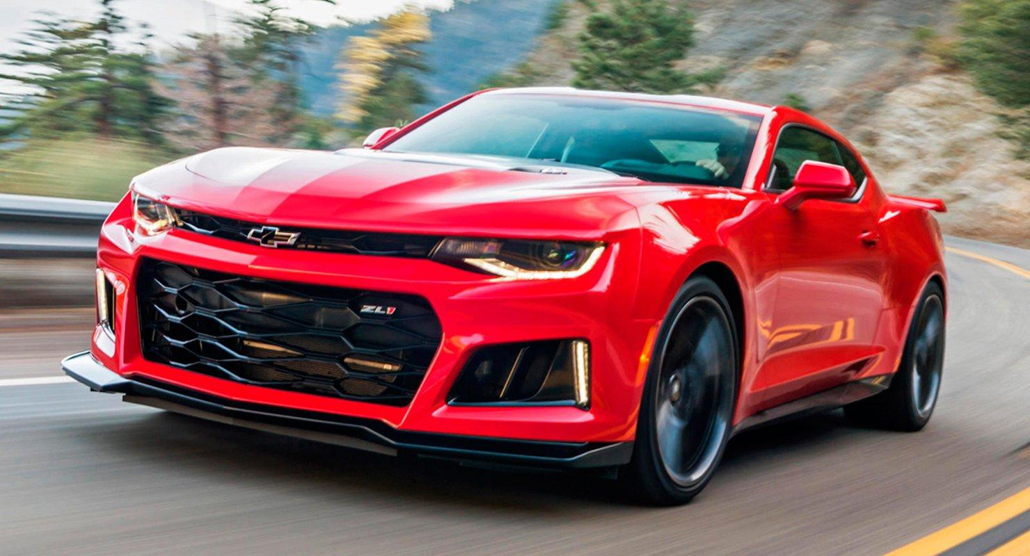 GM вновь закрывает выпуск Chevrolet Camaro Автомобили