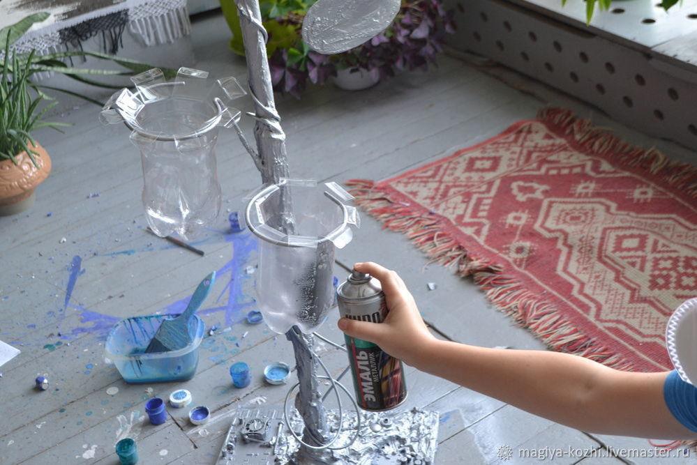 Создаем необычную напольную вешалку, фото № 15