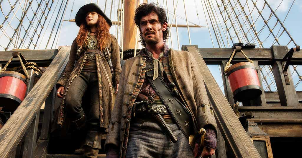 Калико Джек: история пирата, который брал в команду женщин и не протрезвел, пока его не повесили