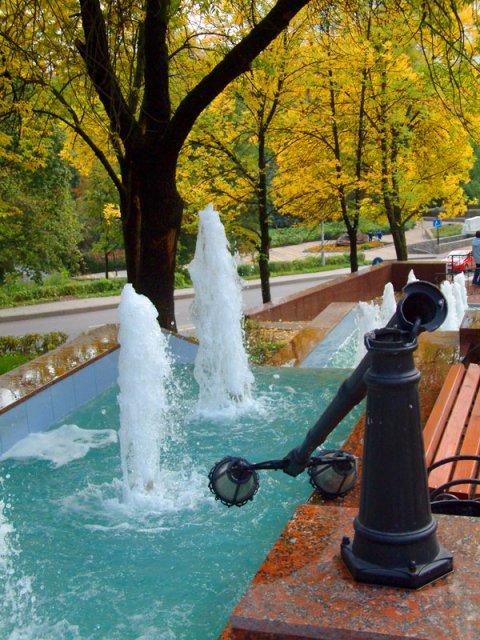 Липецк - город фонтанов