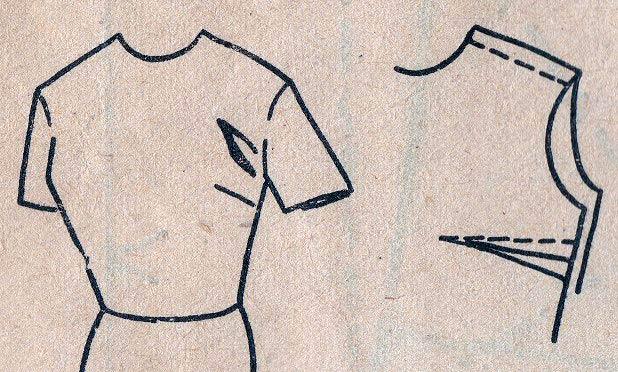 Исправляем дефекты: заломы в области проймы. Мастер-класс женские хобби,рукоделие,своими руками,шитье