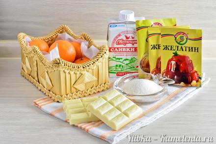 Панна котта с мандариновым желе десерты,кулинария,новогодние рецепты