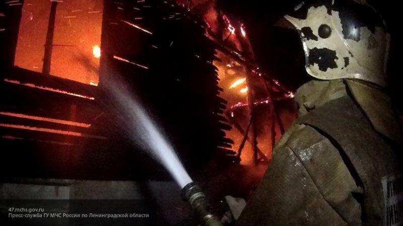 Пожар охватил общежитие педколледжа в Иркутской области