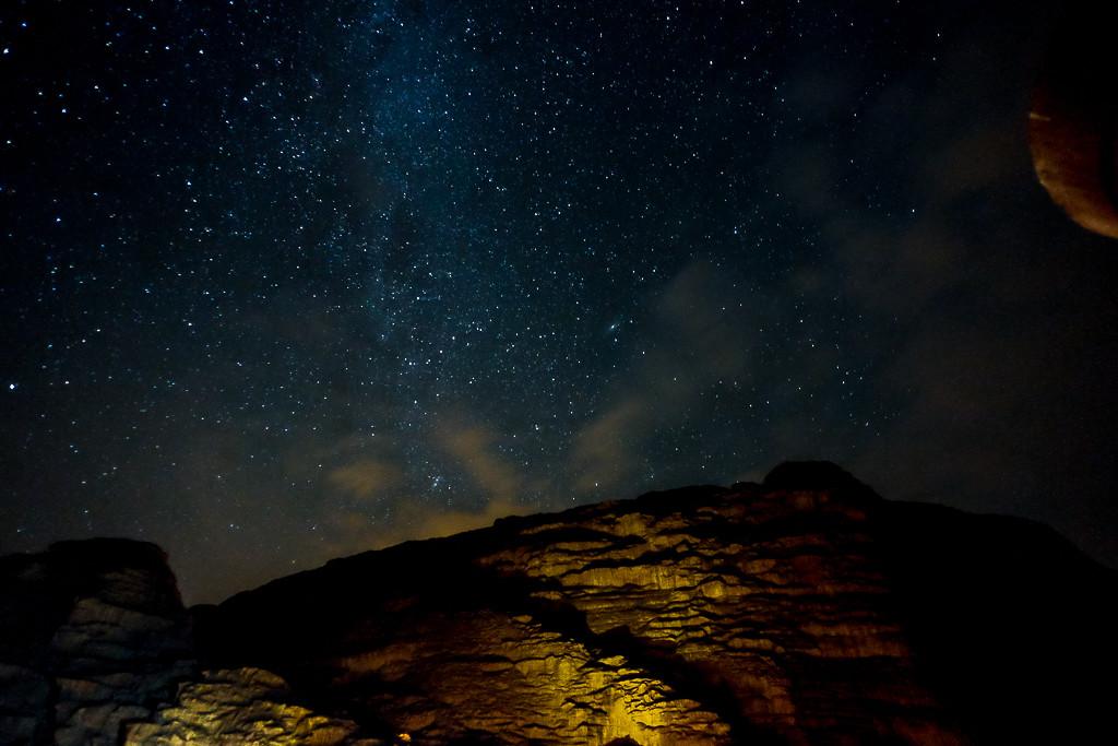 Небо над Иорданией