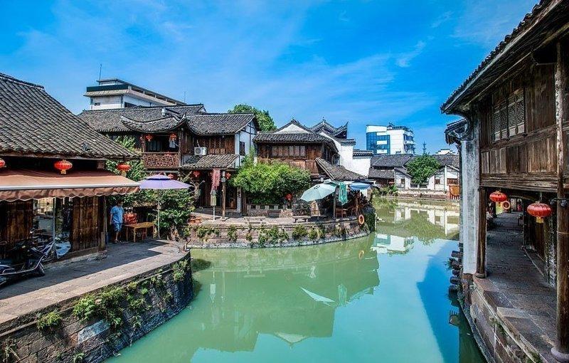 Синьши - город на воде, построенный около тысячи лет назад виды, города, китай, красота, необыкновенно, пейзажи, удивительно, фото
