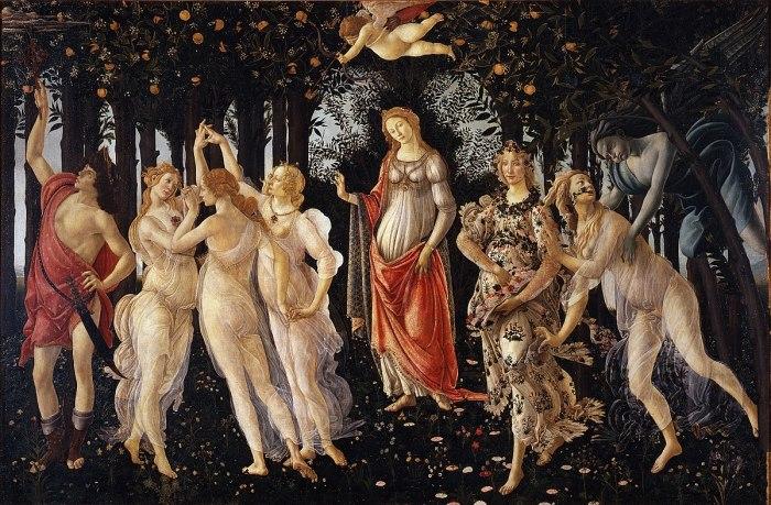 Весна (1482 г.) - Боттичелли.