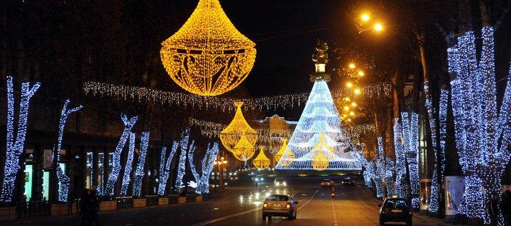 Новый 2018 год в Тбилиси