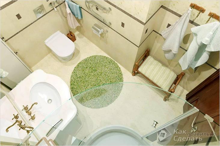 Перепланировки ванной комнаты