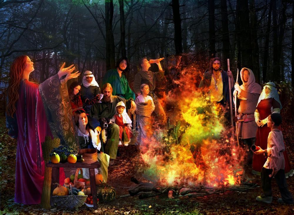 Чародейная ночь 31 октября - история праздника в разных странах