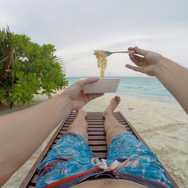 Вот кто знает толк в пляжном отдыхе!