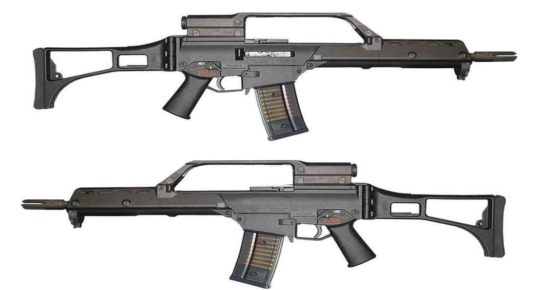 Бундесвер вооружат новой штурмовой винтовкой оружие