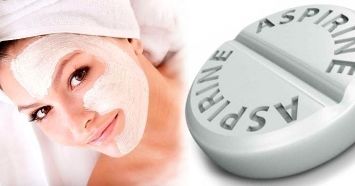 Маски из аспирина, которые сделают вашу кожу моложе
