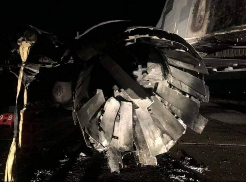 Восстановлению не подлежит: появились фото сгоревшего на Украине МиГ-29 Новости