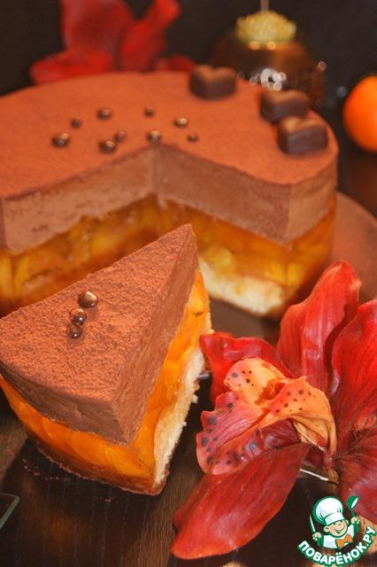 Изысканный и очень нежный торт, который украсит ваш праздничный стол!