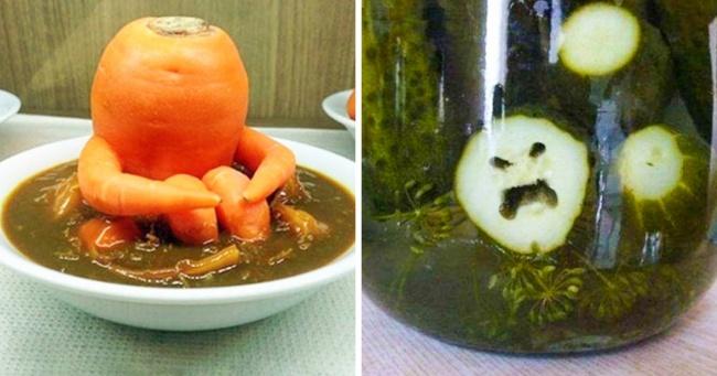 Иногда еда не совсем то, чем кажется — 10 фото, на которых еда заставит вас сказать «Ой, блииин!»