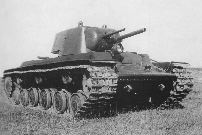 Эволюция вооружений танка КВ-1 оружие