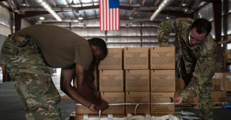 Армия США вывезла из Сирии 50 тонн золота