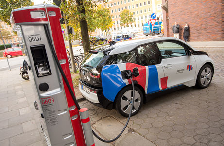 Электромобили зарядят за сче…